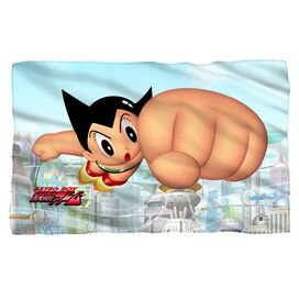 Astro Boy City Boy Fleece Blanket