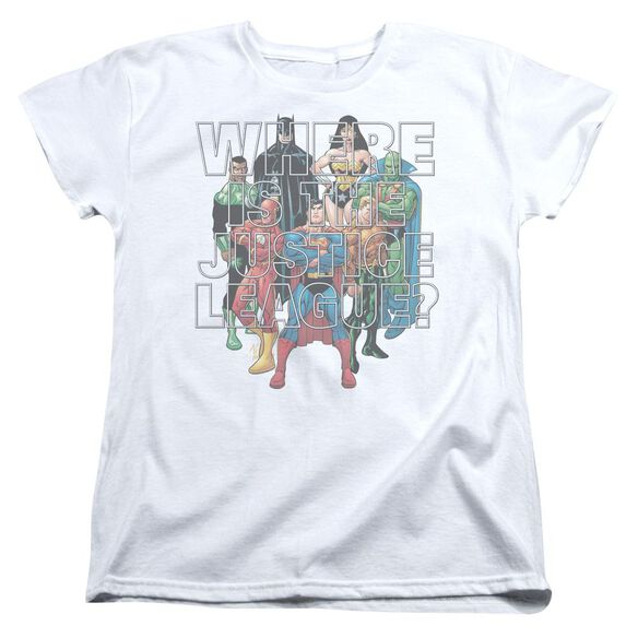 Jla Classified #1 Cover Short Sleeve Womens Tee T-Shirt