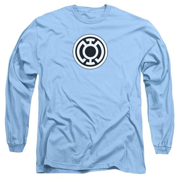 Green Lantern Lantern Logo Long Sleeve Adult Carolina T-Shirt