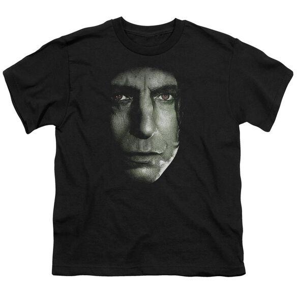 Harry Potter Snape Head Short Sleeve Youth T-Shirt