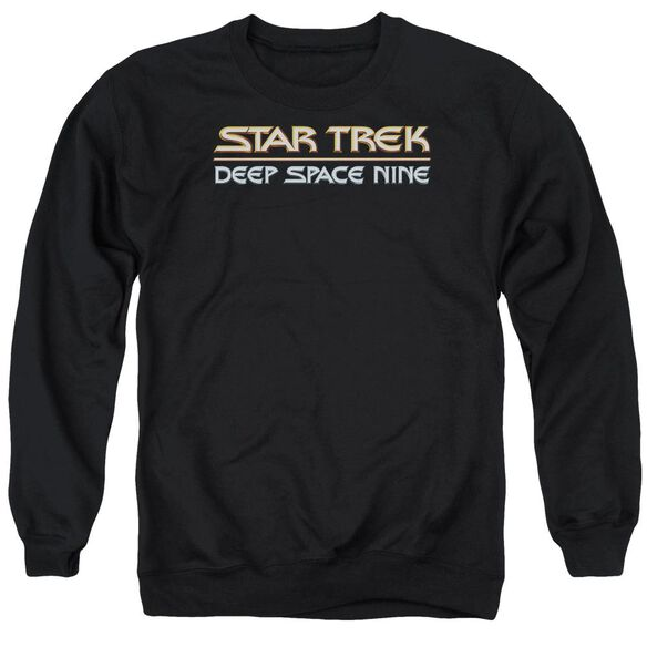 Star Trek Deep Space Nine Logo Adult Crewneck Sweatshirt