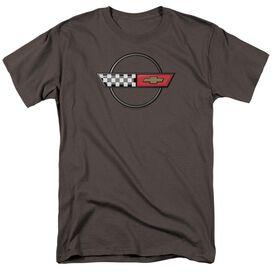 Chevrolet 4 Th Gen Vette Logo Short Sleeve Adult T-Shirt