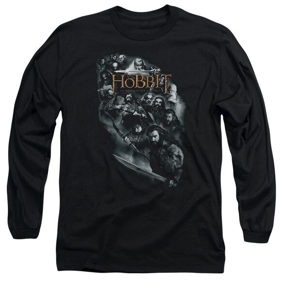 The Hobbit Cast Of Characters Long Sleeve Adult T-Shirt