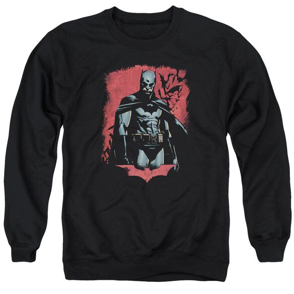 Batman Begins Dead Town Adult Crewneck Sweatshirt