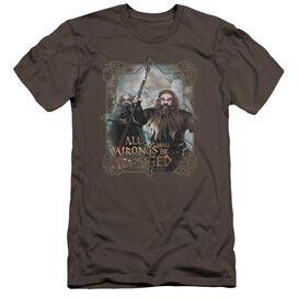 The Hobbit Wrongs Avenged Premuim Canvas Adult Slim Fit