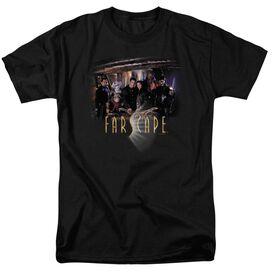 FARSCAPE CAST - S/S ADULT 18/1 - BLACK T-Shirt