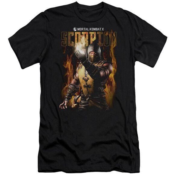 Mortal Kombat Scorpion Hbo Short Sleeve Adult T-Shirt