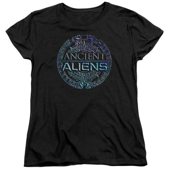 Ancient Aliens Symbol Logo Short Sleeve Womens Tee T-Shirt