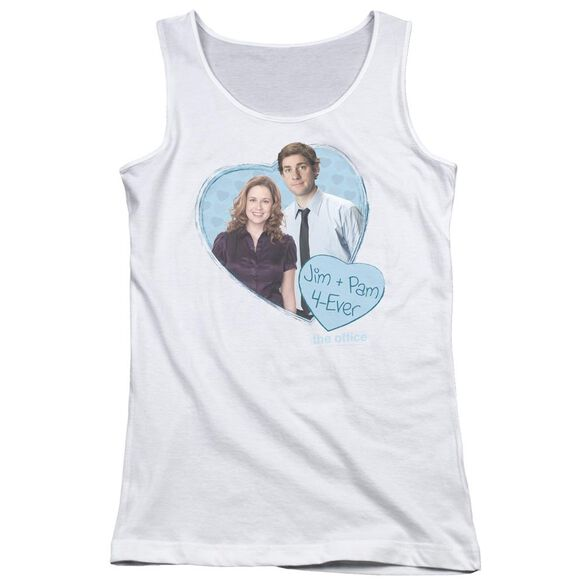 The Office Jim & Pam 4 Ever Juniors Tank Top