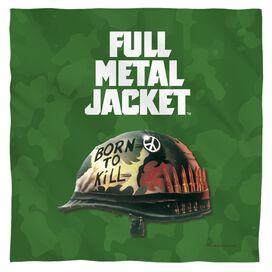 Full Metal Jacket Poster Bandana