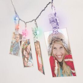 Color Changing Mini Clip String Lights