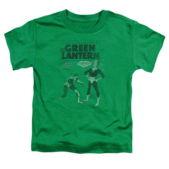 Green Lantern Perilous Traps Short Sleeve Toddler Tee Kelly Green Lg T-Shirt