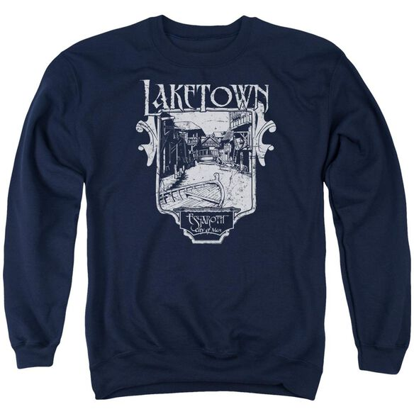 Hobbit Laketown Simple Adult Crewneck Sweatshirt