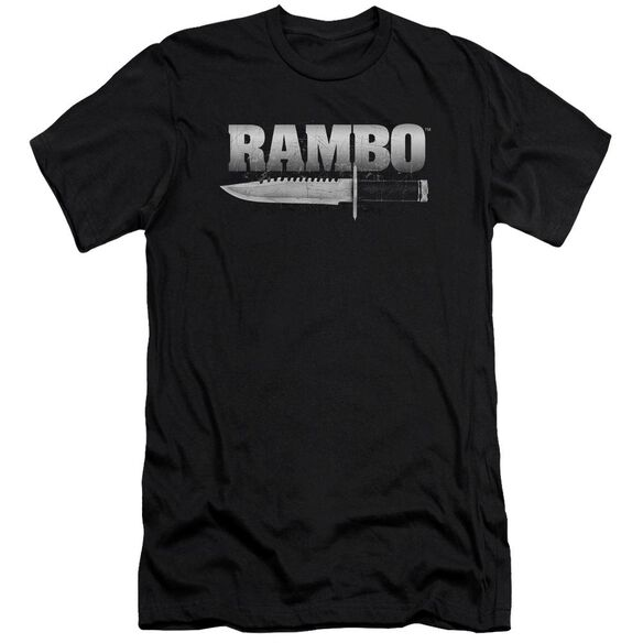 Rambo:First Blood Knife Premuim Canvas Adult Slim Fit