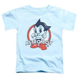 Astro Boy Target Short Sleeve Toddler Tee Light Blue T-Shirt