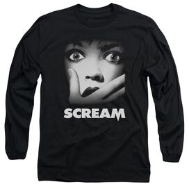 Scream Poster Long Sleeve Adult T-Shirt