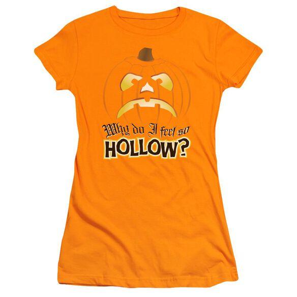 Hollow Short Sleeve Junior Sheer T-Shirt