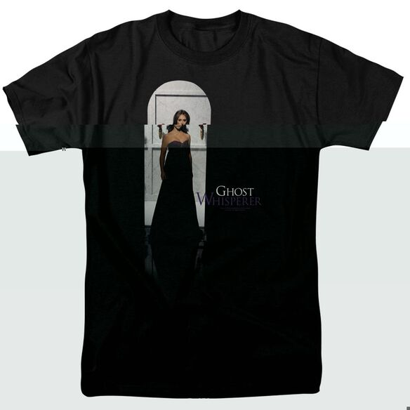 GHOST WHISPERER DOORWAY - S/S ADULT 18/1 - BLACK T-Shirt