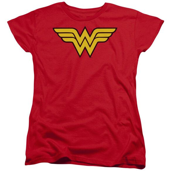 Dc Wonder Woman Logo Short Sleeve Womens Tee T-Shirt
