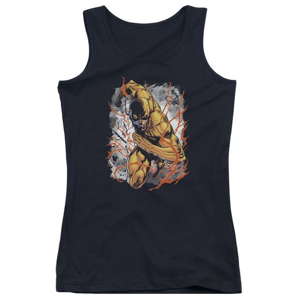 Jla Reversed Juniors Tank Top