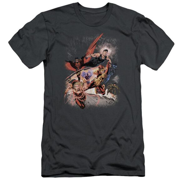 Jla Teen Titans #1 Short Sleeve Adult T-Shirt