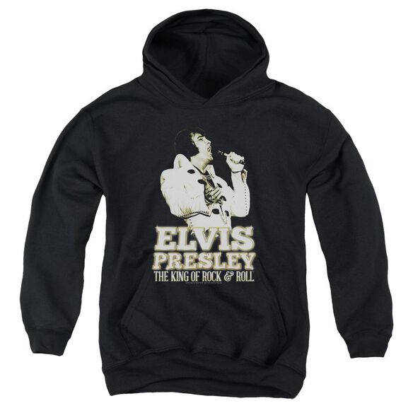 Elvis Golden Youth Pull Over Hoodie