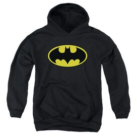 Batman Classic Logo Youth Pull Over Hoodie