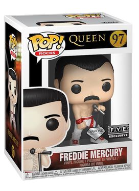 Funko Pop! Rocks: Queen - Freddie Mercury (Diamond Collection)