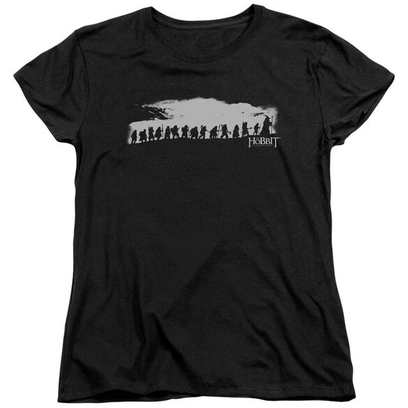 The Hobbit The Company Short Sleeve Womens Tee T-Shirt