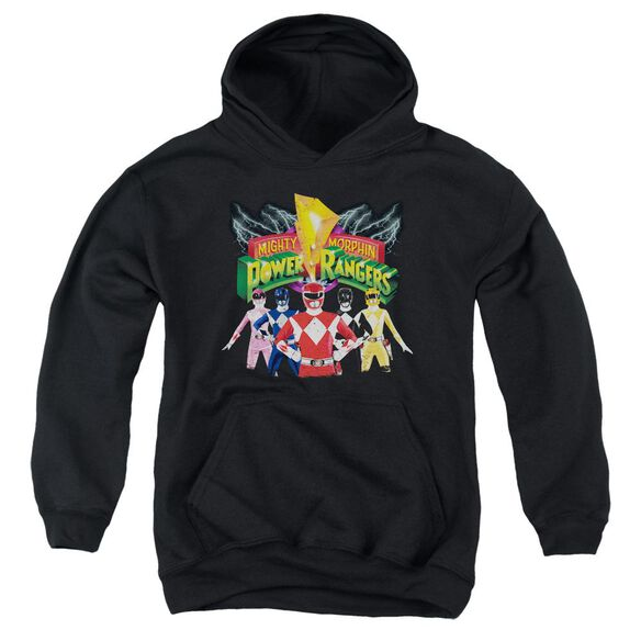Power Rangers Rangers Unite Youth Pull Over Hoodie