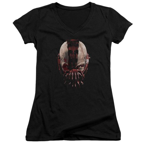 Dark Knight Rises Bane Mask Junior V Neck T-Shirt