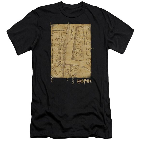 Harry Potter Marauders Map Interior Hbo Short Sleeve Adult T-Shirt