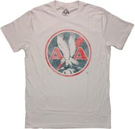 American Airlines Vintage Logo Gray T-Shirt