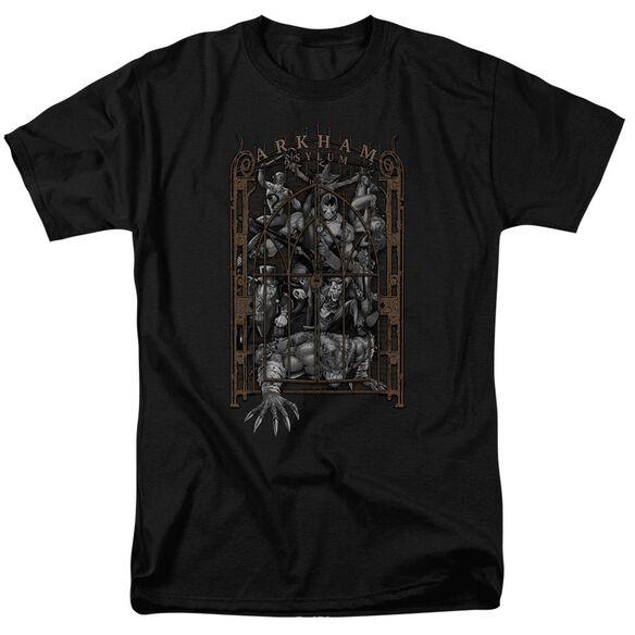 Batman Arkham's Gate Short Sleeve Adult T-Shirt