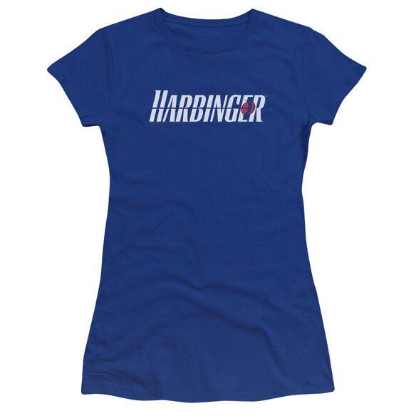 Harbinger Logo Premium Bella Junior Sheer Jersey Royal
