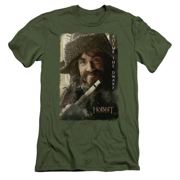The Hobbit Bofur Short Sleeve Adult Military T-Shirt