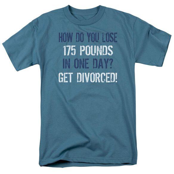 Lose 175 Pounds Short Sleeve Adult Slate T-Shirt