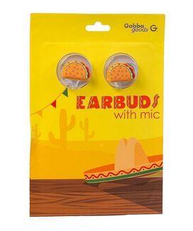 Gabba Goods Taco Earbuds