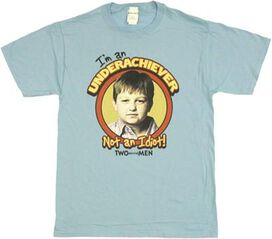 Two and a Half Men Jake Underachiever T-Shirt