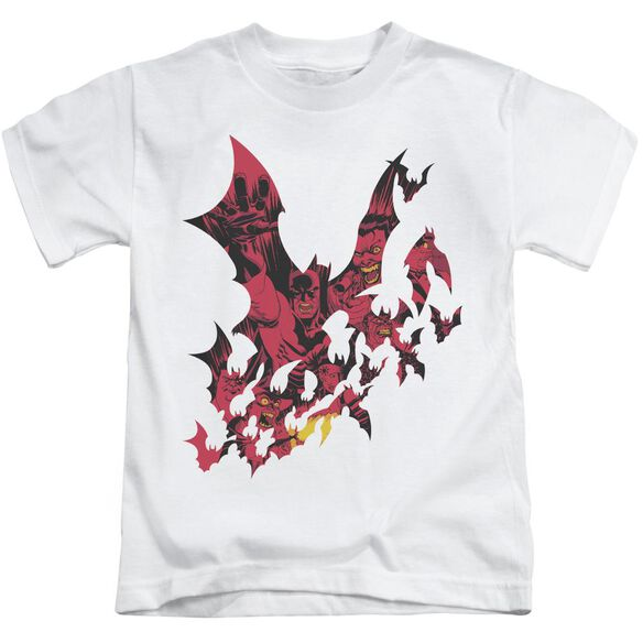 BATMAN BROKEN CITY - S/S JUVENILE 18/1 - WHITE - T-Shirt