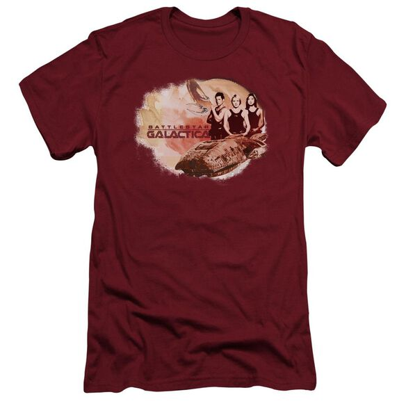 Bsg Galactica Pilots Short Sleeve Adult T-Shirt