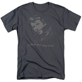 HAPPY DAYS COOL FONZ-S/S ADULT 18/1 - CHARCOAL T-Shirt