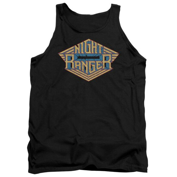 Night Ranger Logo Adult Tank