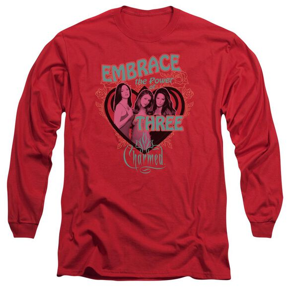 Charmed Embrace The Power Long Sleeve Adult T-Shirt