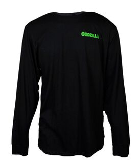 Godzilla Comes From the Depths of the Ocean Long Sleeve T-Shirt