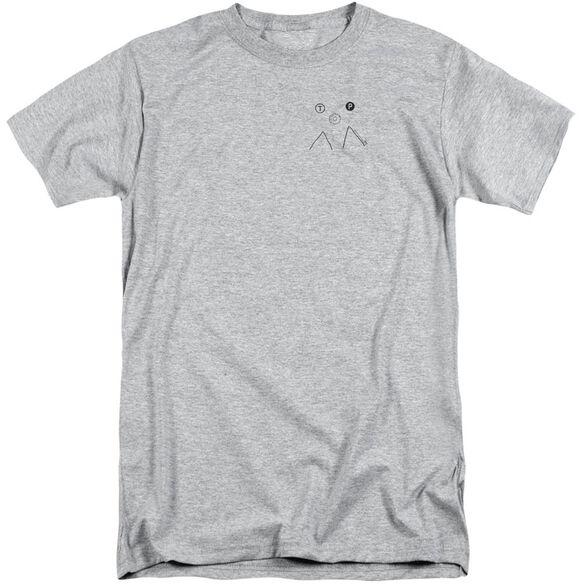 Twin Peaks Peak Donut Short Sleeve Adult Tall Athletic T-Shirt