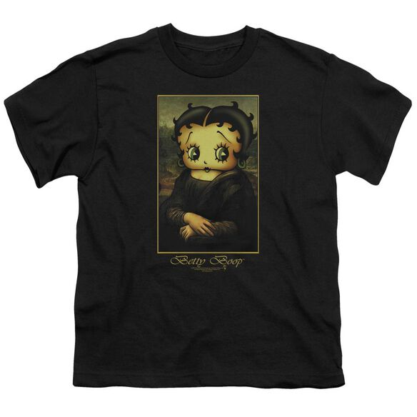 Betty Boop Boopalisa Short Sleeve Youth T-Shirt