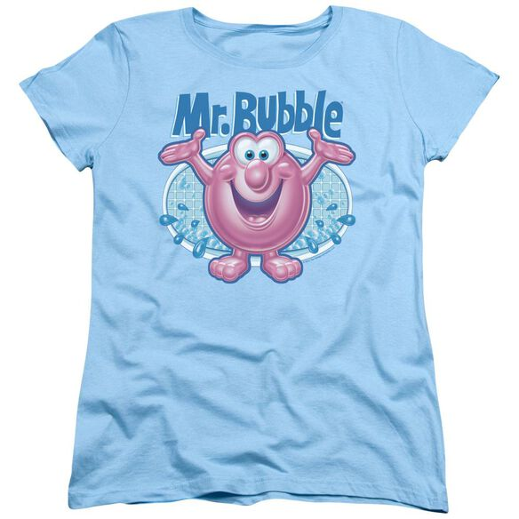 Mr Bubble Overflowing Short Sleeve Women's Tee Light T-Shirt