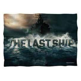 Last Ship Out To Sea Pillow Case White