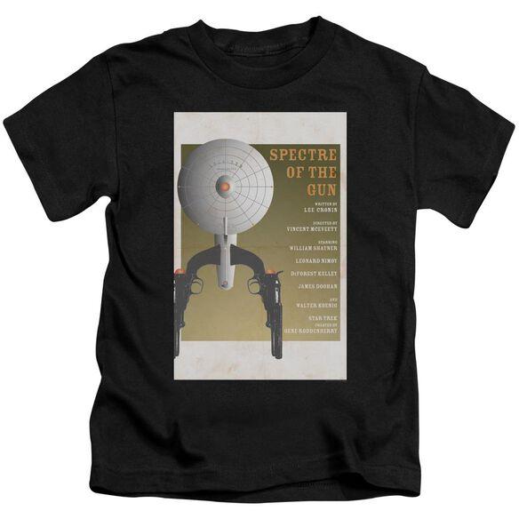 Star Trek Tos Episode 61 Short Sleeve Juvenile Black Md T-Shirt